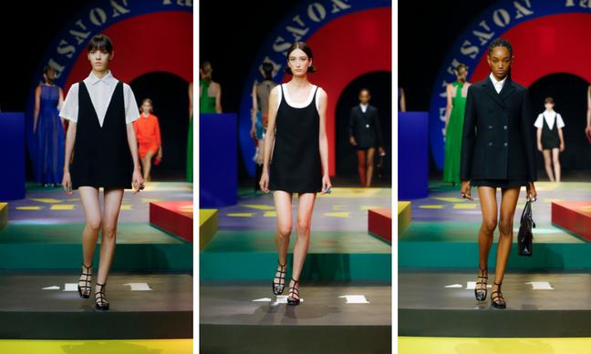 Desfile Dior verão 2022 (Fotos: Laurine Bonnet/Divulgação)