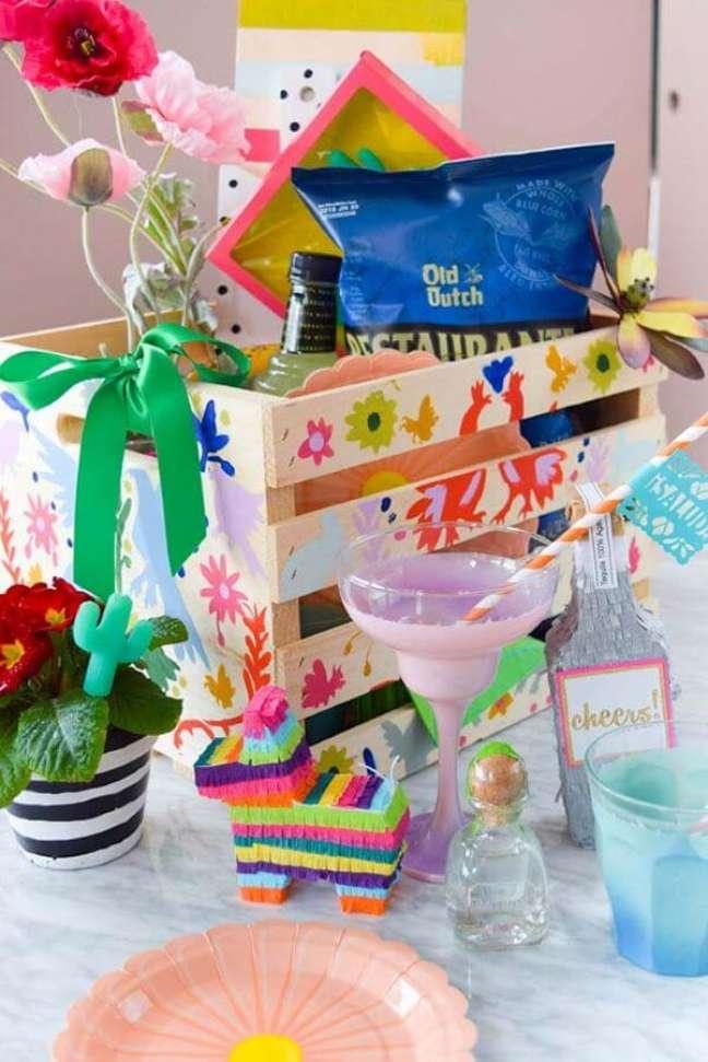 72. Dicas de como fazer uma festa na caixa – Foto: Casa e Festa
