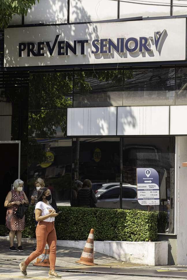 Fachada da Prevent Senior em São Paulo