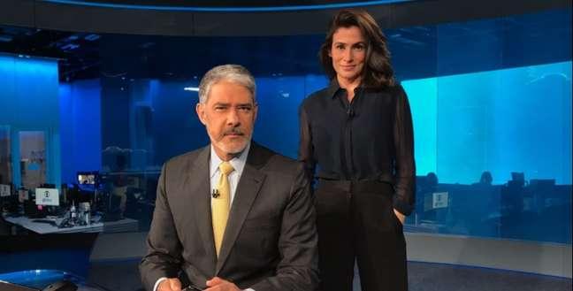 Bonner e Renata são líderes em audiência na TV, mas estão longe de ser unanimidade entre os colegas jornalistas