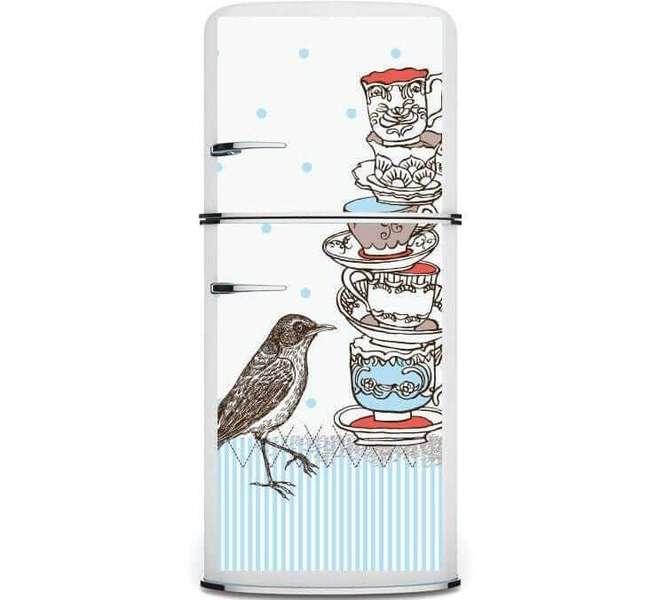76. Aposte no envelopamento da sua geladeira. Fonte: Kudu Magnets