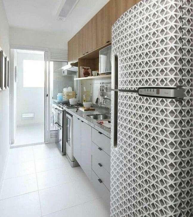 72. Estampas geométricas são puro charme na decoração. Fonte: BIS Studio de Arquitetura