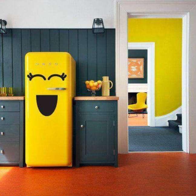 4. O desenho de emoji feliz com certeza dá um ar mais feliz à casa. Fonte: Spiros Soulis