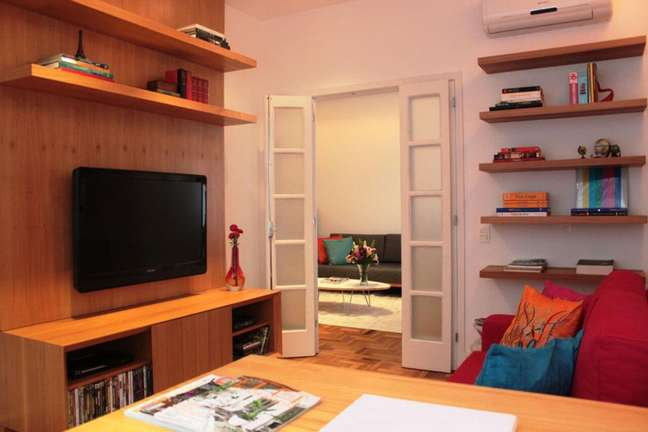 5. Procure sempre reutilizar móveis em bom estado. Fonte: Mallemont Arquitetura