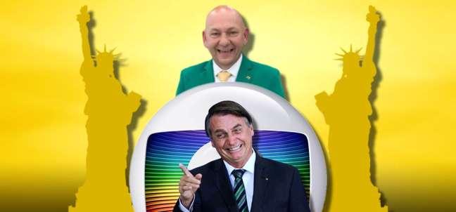Luciano Hang pagou mais de R$ 1 milhão por anúncios na Globo, a inimiga de Bolsonaro