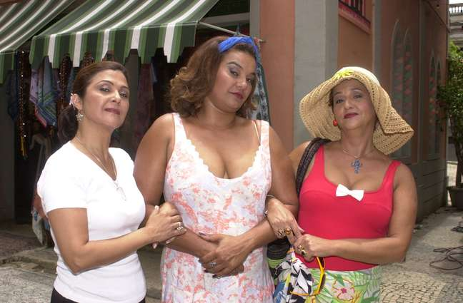 Elizangela, Solange Couto e Mara Manzan