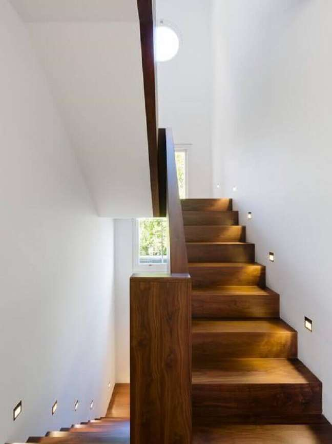 12. Modelo de escada de madeira simples. Fonte: the Ofy