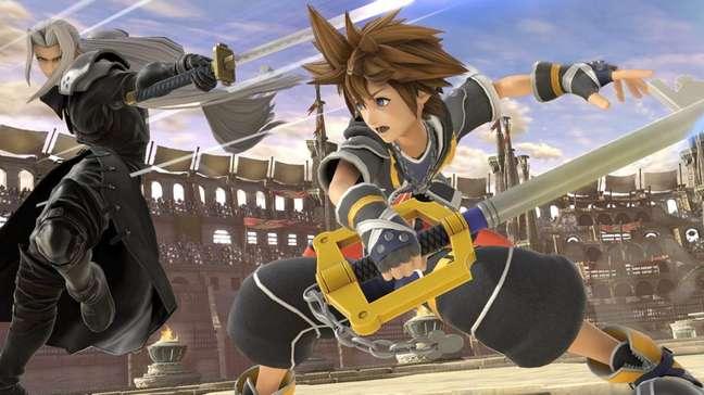 Sora terá trajes inspirados em visuais de jogos da franquia Kingdom Hearts