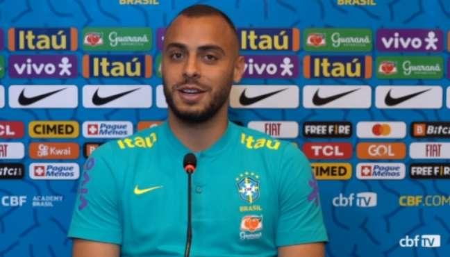 Arthur Cabral se inspira em Ronaldo Fenômeno (Reprodução / CBF TV)