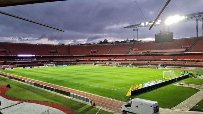 Morumbi, estádio do São Paulo (Foto: Gabriel Santos/LANCE!)