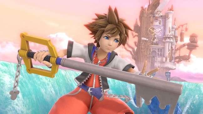 Sora é o último lutador de Super Smash Bros Ultimate