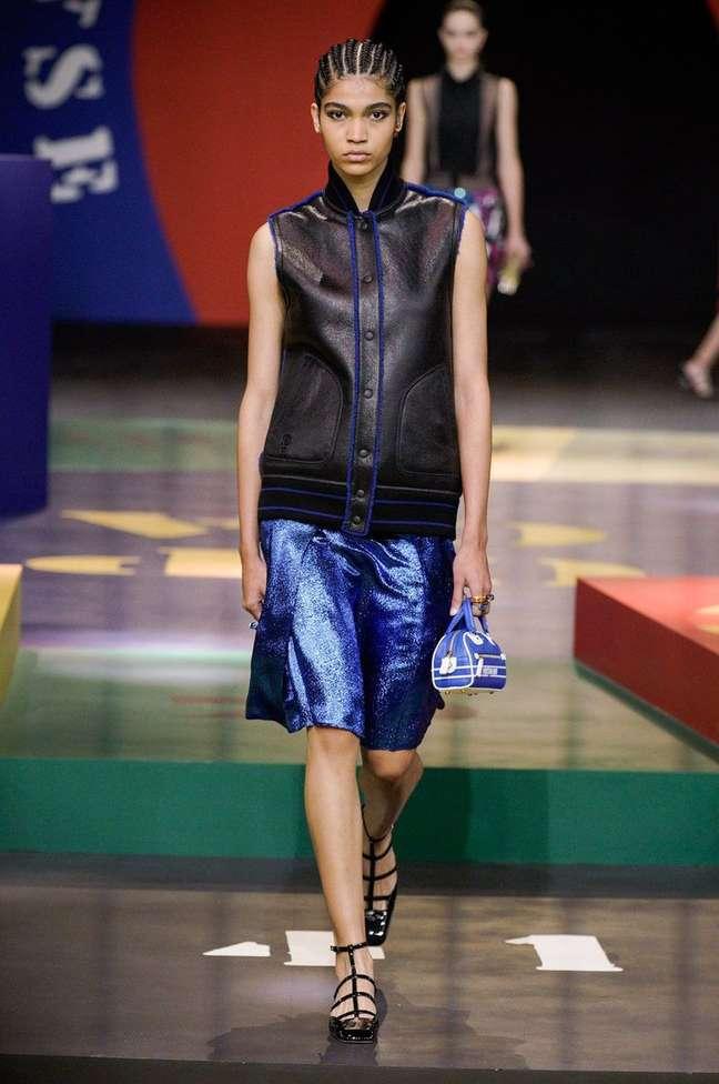 Raynara Negrine na Dior