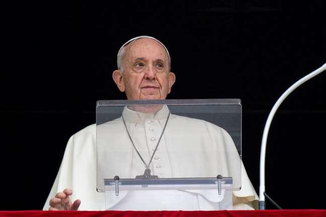 Papa Francisco no Vaticano26/09/2021 Vatican Media/Divulgação via REUTERS