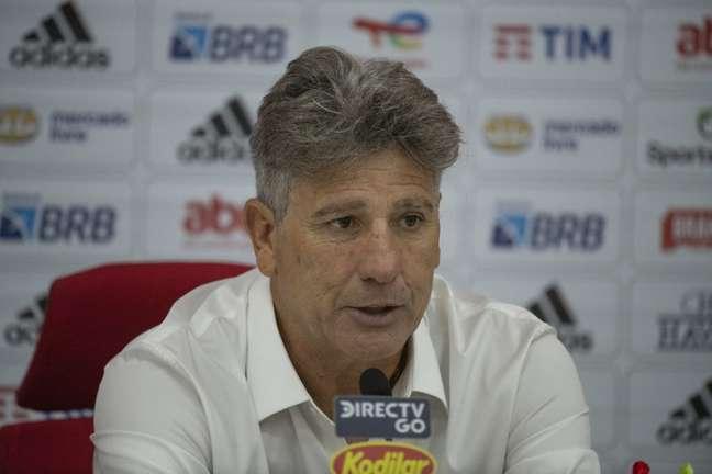 Técnico do Flamengo, Renato Gaúcho sofre com desfalques no Brasileirão (Foto: Alexandre Vidal/Flamengo)