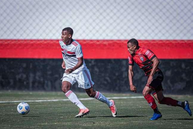 Luizão é um dos destaques do sub-20 do São Paulo (Foto: Heber Gomes)