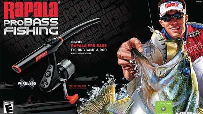 A vara de pescar lançada pela Activision