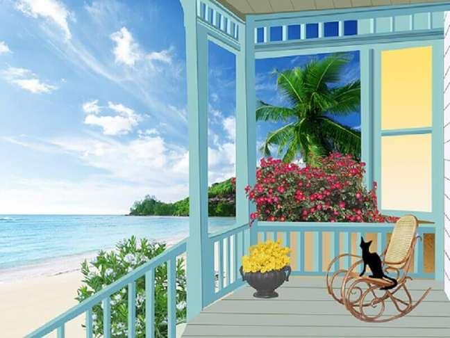1. Saiba como aproveitar melhor o espaço da sua varanda – Foto: Pixabay