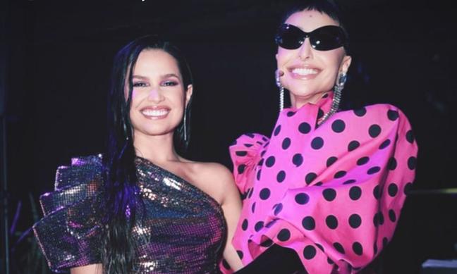 Juliette e Sabrina Sato no Prêmio Geração Glamour