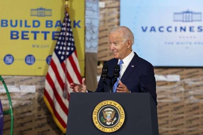 Presidente dos EUA, Joe Biden. 7/10/2021. REUTERS/Evelyn Hockstein