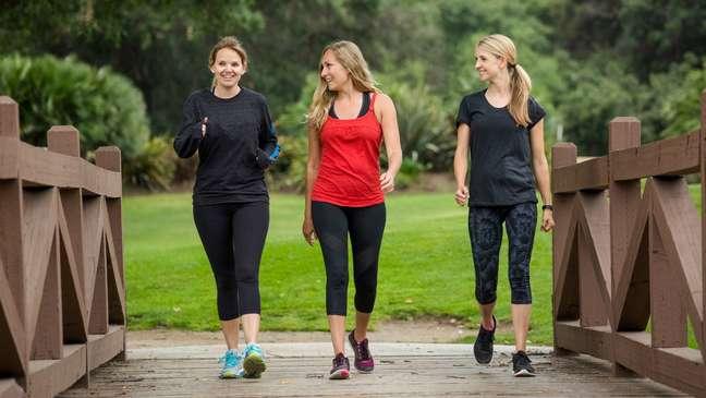 Caminhada é boa opção de atividade física moderada