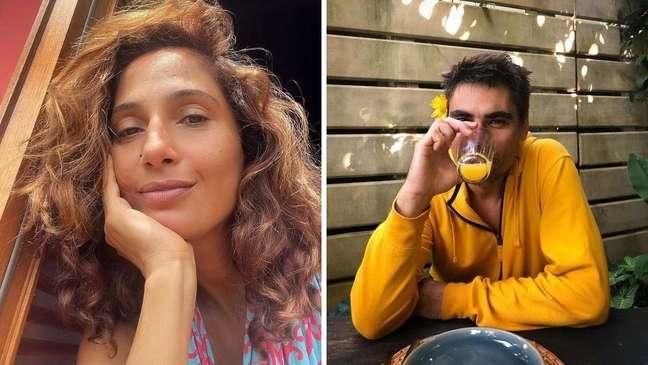 A atriz estava solteira desde dezembro de 2020, quando terminou com a artesã Beatriz Coelho.