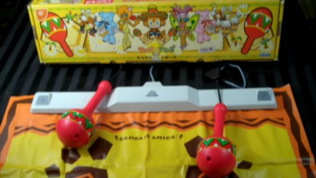 As maracas do Samba de Amigo