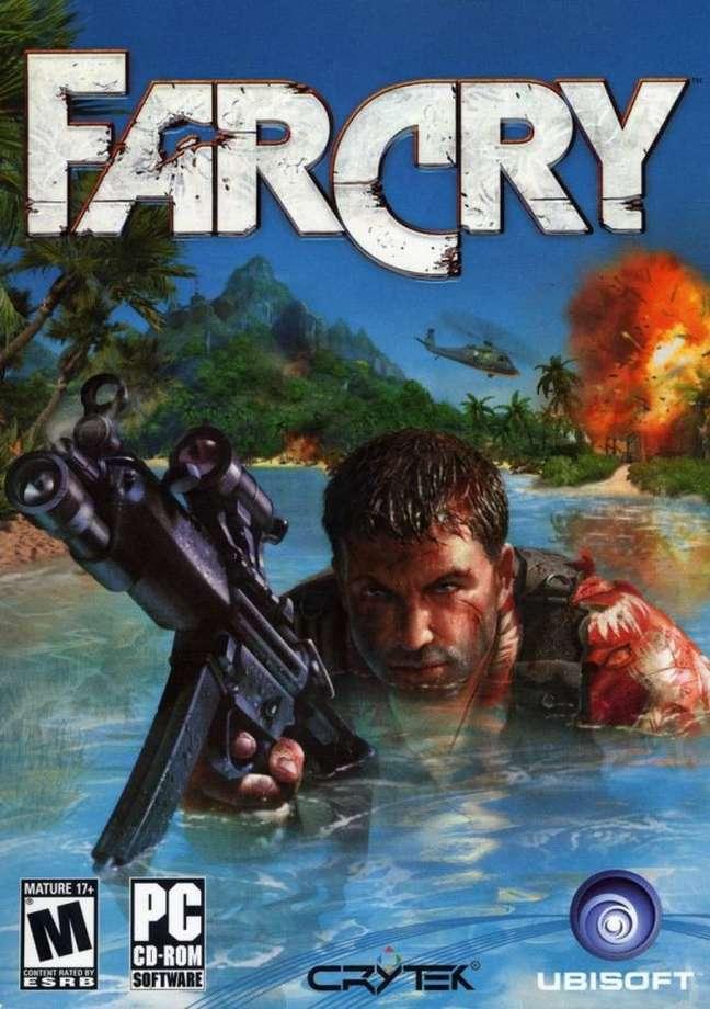 Sucesso de público, primeiro jogo da franquia Far Cry foi lançado em 2004.
