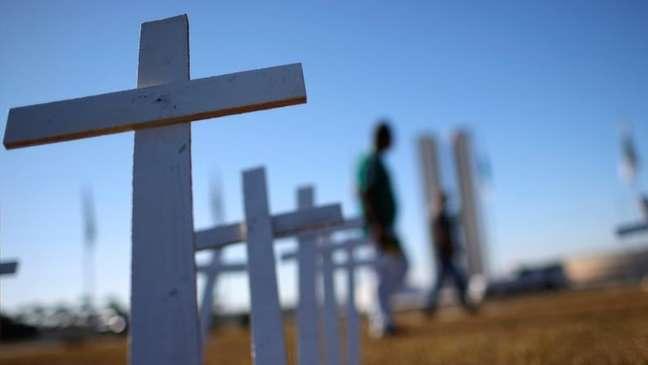 Brasil é um dos países com maior quantidade de casos e mortes por covid-19