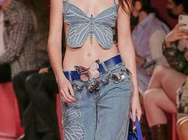 Desfile Blumarine na semana de moda de Milão