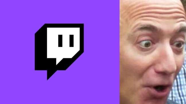 Site da Twitch é vandalizado com meme de Jeff Bezos