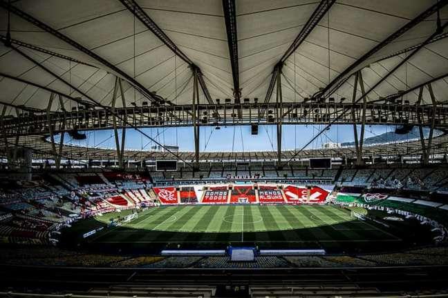 Maracanã está apto a receber público, assim como São Januário e Nilton Santos (Foto: Alexandre Vidal/Flamengo)
