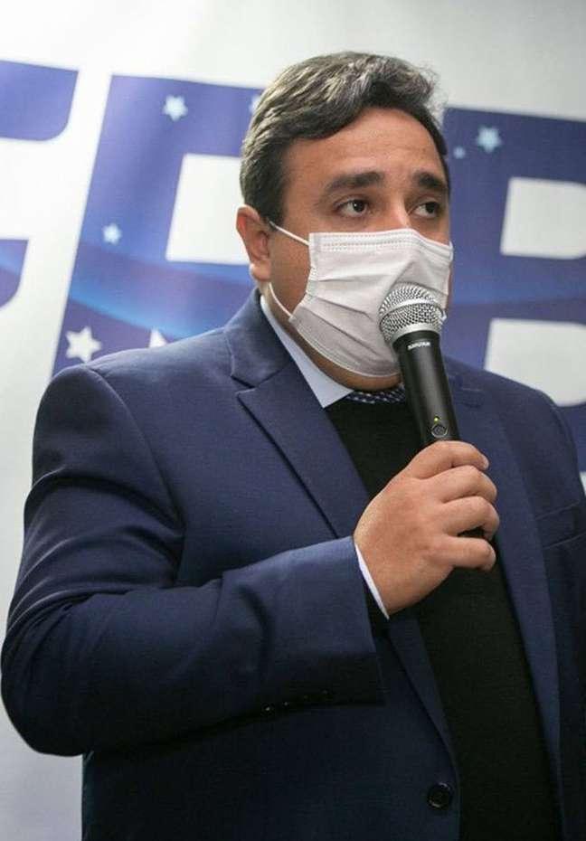 Secretário Tiago Queiroz cuida do cofre do Ministério do Desenvolvimento Regional.