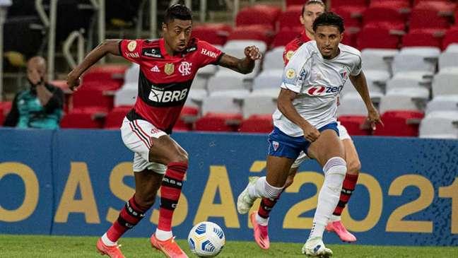 Flamengo e Fortaleza estão na briga pelo título do Brasileirão (Foto: Alexandre Vidal/Flamengo)