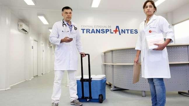 Doador pode salvar a vida de até oito pessoas em transplantes de órgãos