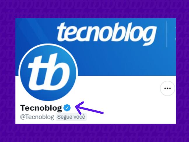 Interessante o nome de usuário e o @ trazerem o nome da empresa.