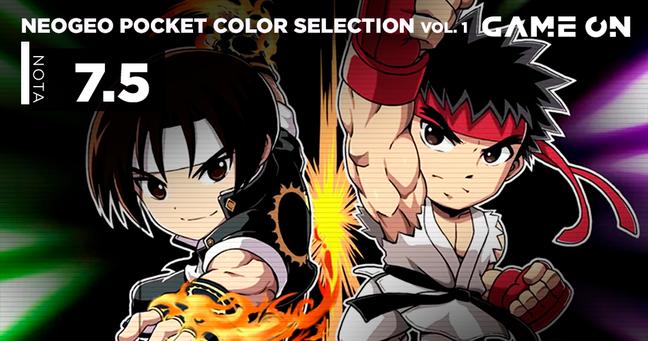 Neo Geo Pocket Color Sel. Vol. 1 - Nota 7.5