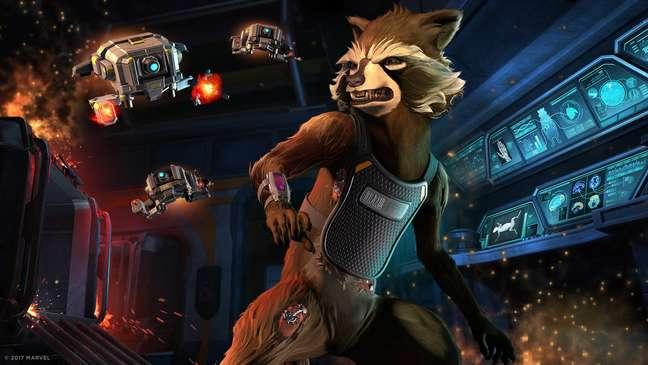 Versão da Telltale de Guardiões da Galáxia une história épica e narrativa interativa.
