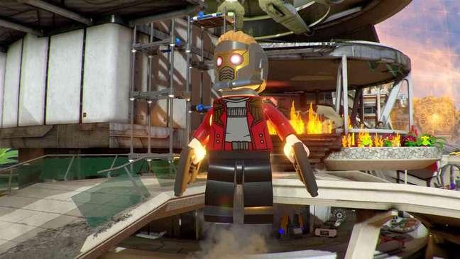 Um dos jogos da franquia LEGO mais queridos é o Marvel Super Heroes 2, que traz os principais nomes da Marvel em cena.