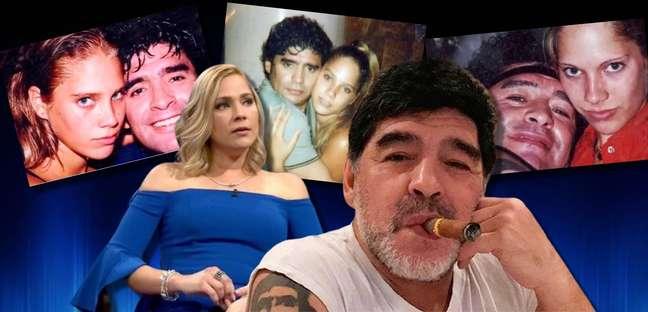Na época do romance sigiloso comMavys, Maradona era casado e tinha 41 anos