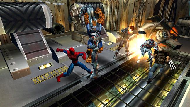 Ultimate Alliance chamou a atenção por trazer uma campanha co-op e a dinâmica de equipe entre personagens bem diferentes.