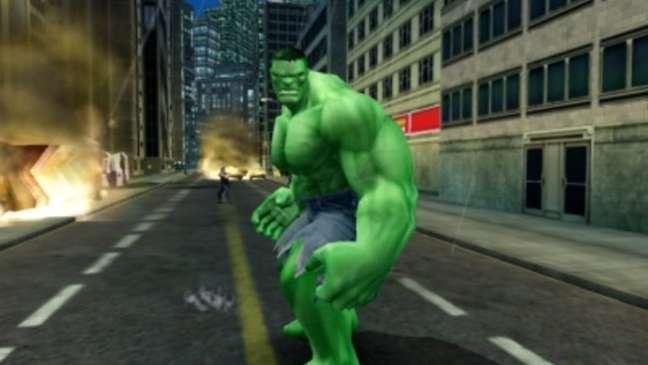 """""""Hulk esmaga!"""": jogo do super-herói é um clássico dos consoles antigos."""