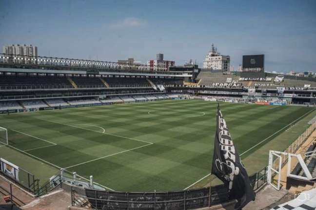Vila Belmiro voltará a receber público neste domingo (FOTO: Divulgação/Santos FC)