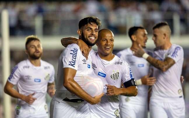 Santos venceu o Mirassol no último jogo com público na Vila Belmiro (Foto: Richard Callis/Fotoarena)
