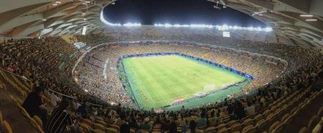 Arena da Amazônia vai receber o reencontro entre Seleção Brasileira e torcida (Foto: Divulgação/CBF)