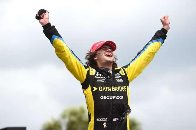 Colton Herta é cotado para ser o novo piloto da Alfa Romeo