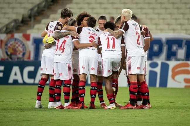 Flamengo derrotou o Fortaleza por 3 a 0, no Castelão, pela 25ª rodada do Brasileiro (Foto: Alexandre Vidal / Flamengo)