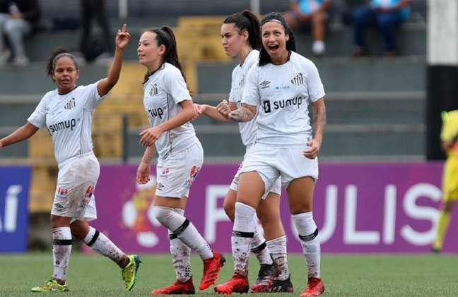 Sereias da Vila golearam o Pinda por 11 a 0 no Paulista Feminino (Crédito: Foto: Pedro Ernesto Guerra Azevedo)