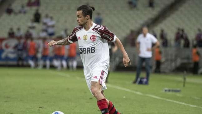 Michael marcou duas vezes na vitória do Flamengo sobre o Fortaleza por 3 a 0 neste sábado (Foto: Alexandre Vidal / Flamengo)
