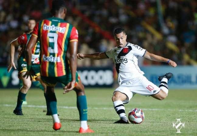 Vasco perdeu para o Sampaio Corrêa e segue a cinco pontos do G4 da Série B do Brasileirão (Rafael Ribeiro /Vasco)