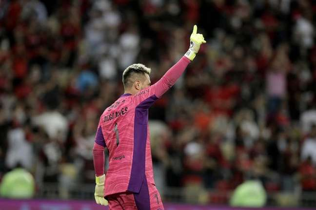 Diego Alves chegou ao Flamengo em meados de 2017 (Foto: Staff Images/Conmebol)